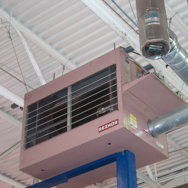 Rad Waste Oil Fired Heater Reznor Heaters